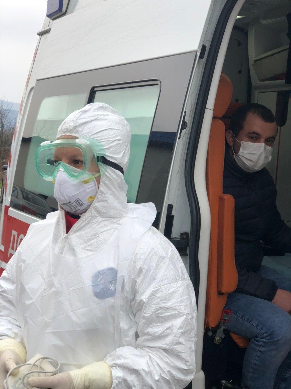 """Навчання: на КПП """"Солотвино"""" 4 людей перевіряють на ознаки коронавірусу, фото-5"""