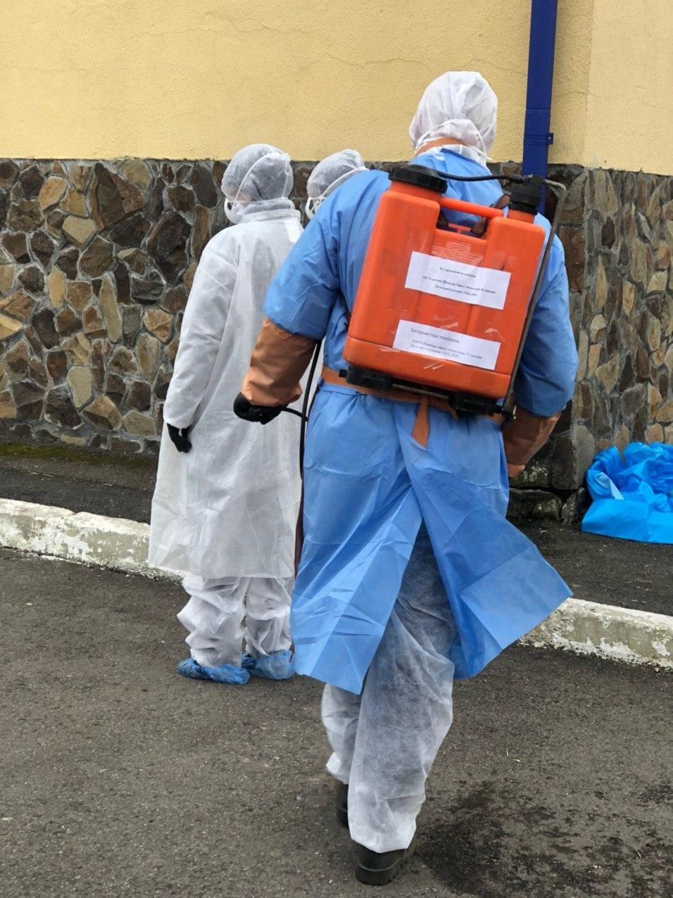 """Навчання: на КПП """"Солотвино"""" 4 людей перевіряють на ознаки коронавірусу, фото-3"""