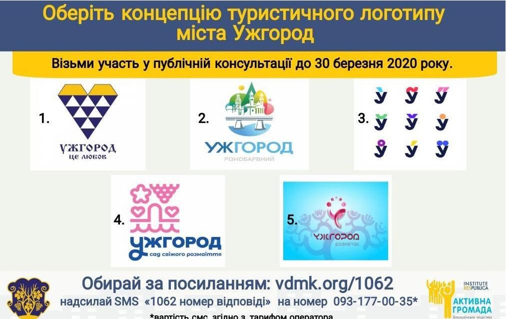 Яким повинен бути туристичний логотип Ужгорода? Містян запрошують до голосування, фото-1