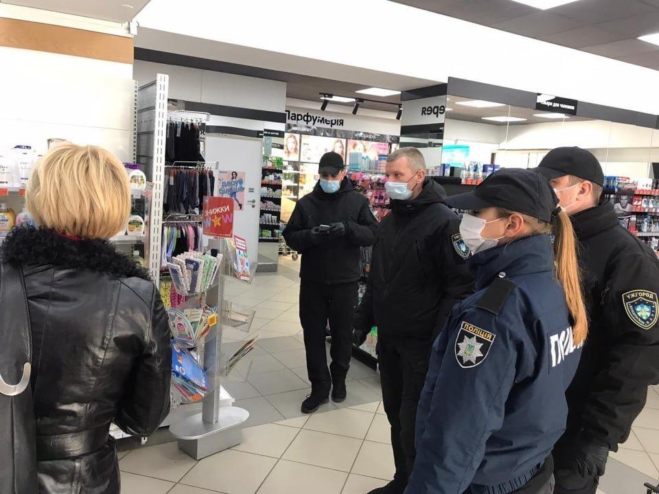 Ужгородські магазини перевірили на дотримання умов та правил карантину (ФОТО), фото-3