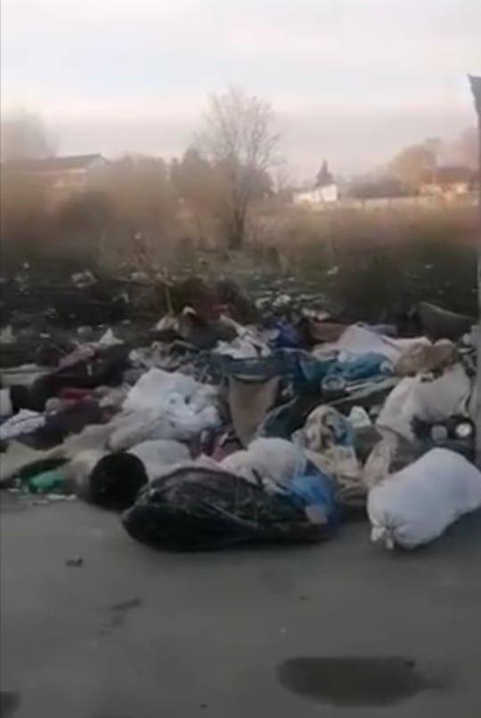 Гори непотребу: у спальному районі Ужгорода утворилося стихійне сміттєзвалище (ФОТО, ВІДЕО), фото-1