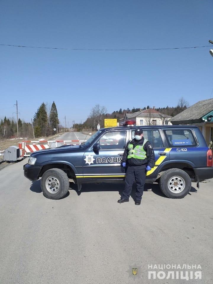 Поліція розгорнула блокпости та КПП на закарпатських перевалах (ФОТО), фото-1