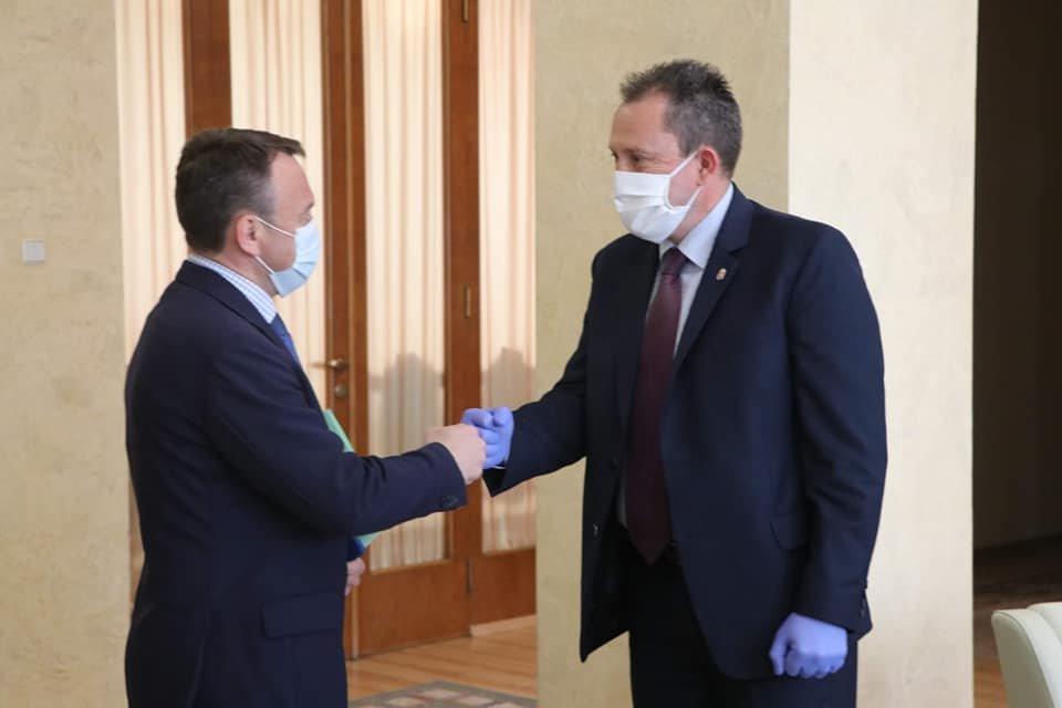 Голова Закарпатської ОДА провів першу офіційну міжнародну зустріч із генеральним консулом Угорщини, фото-1