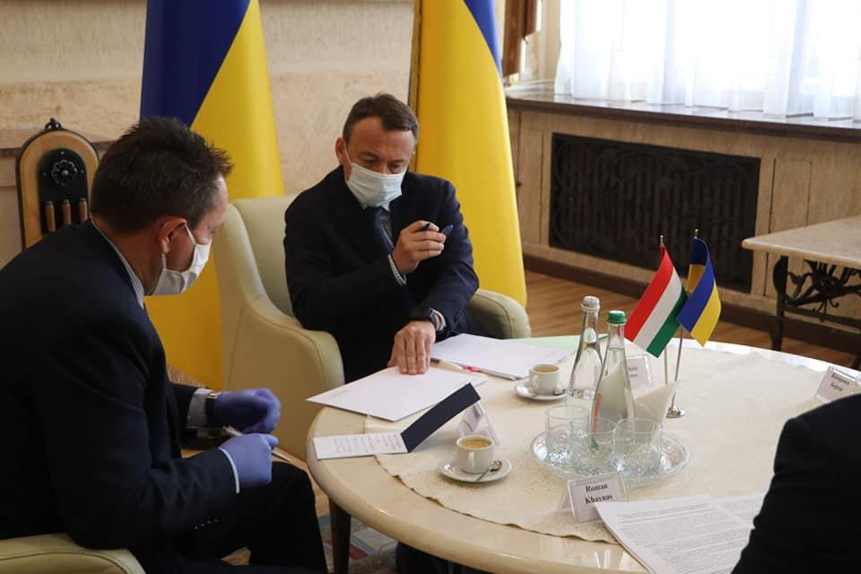Голова Закарпатської ОДА провів першу офіційну міжнародну зустріч із генеральним консулом Угорщини, фото-2