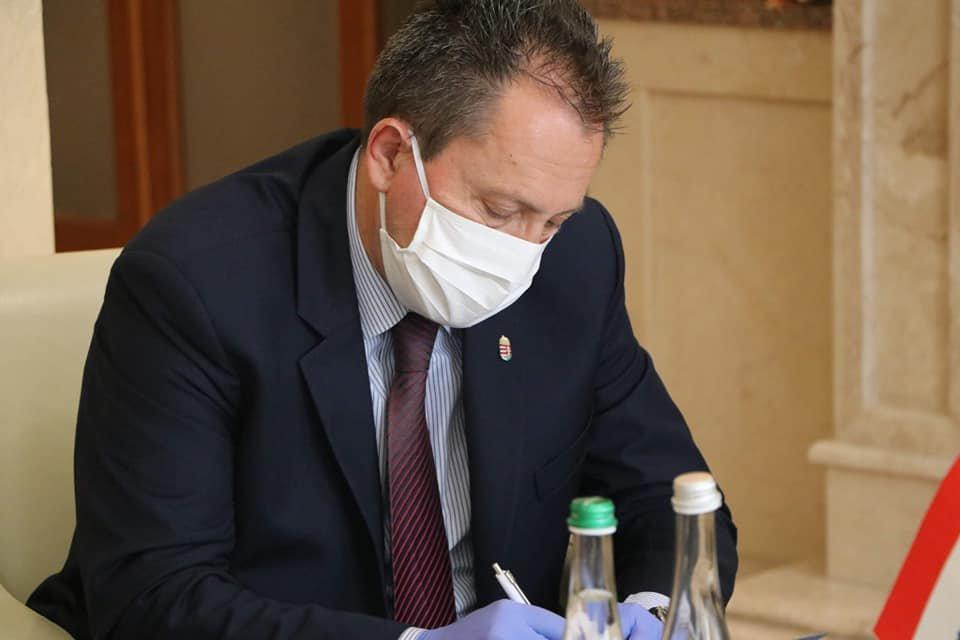 Голова Закарпатської ОДА провів першу офіційну міжнародну зустріч із генеральним консулом Угорщини, фото-3