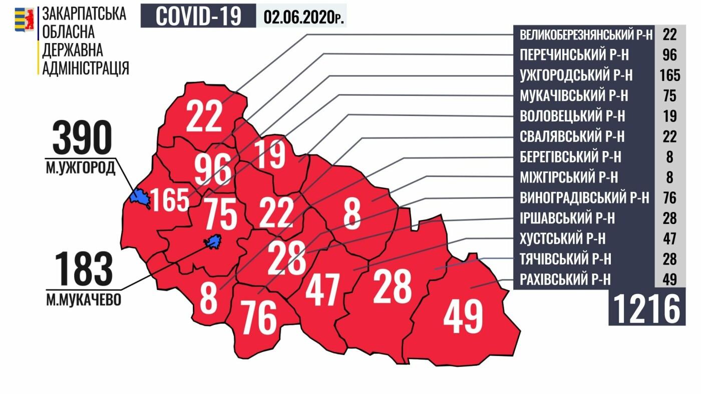 Уже 410 закарпатців одужали від коронавірусу, за минулу добу виявили 10 нових випадків (ОФІЦІЙНО), фото-1