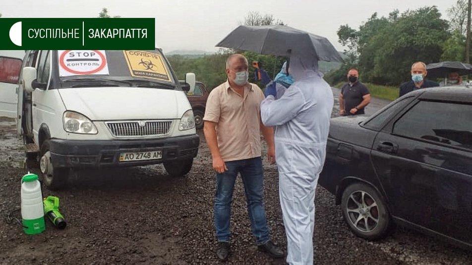 Спалах коронавірусу: у селі Стройне на Свалявщині встановлюють блокпости, фото-2