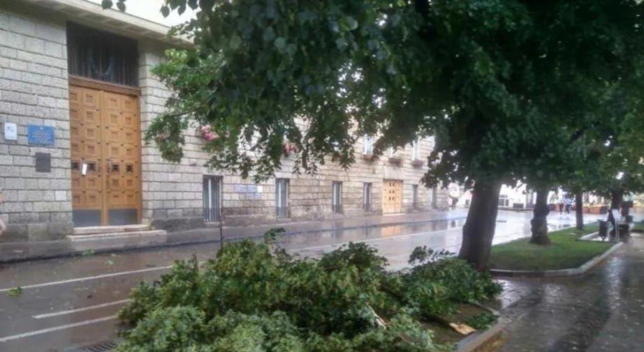 Повалені дерева та річки замість доріг: в Ужгороді ліквідували наслідки негоди, фото-2