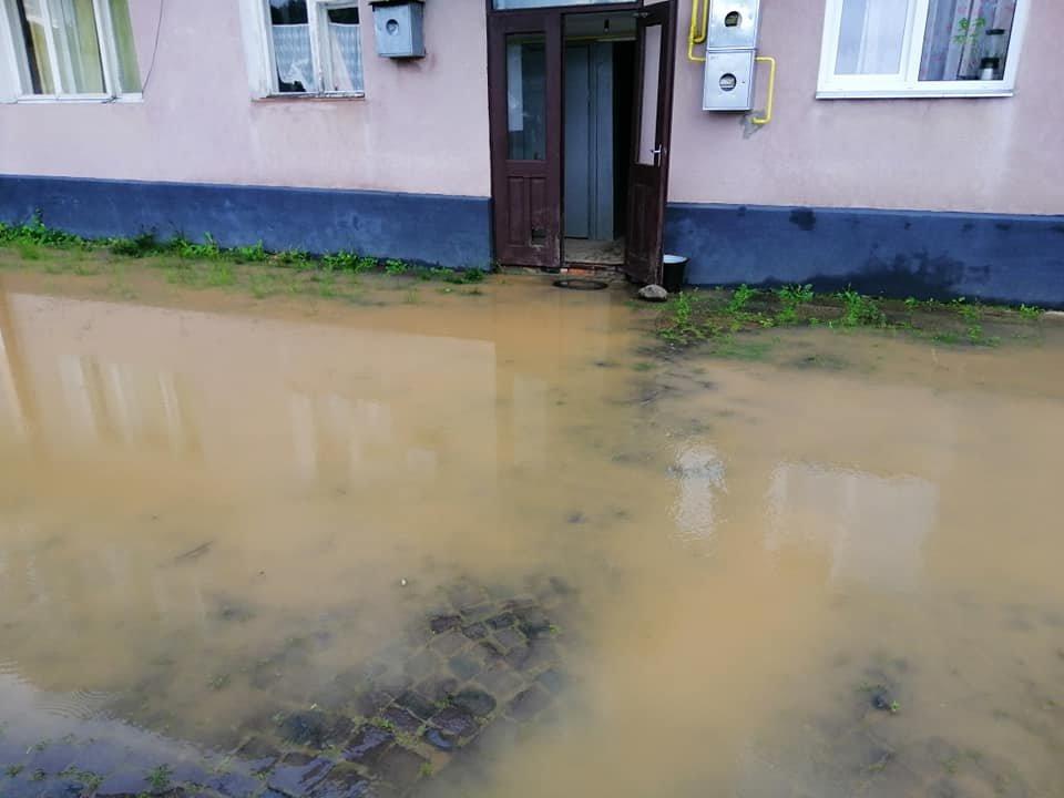 Підтоплені будинки та вулиці: ще одне місто Закарпаття постраждало від негоди (ФОТО), фото-6