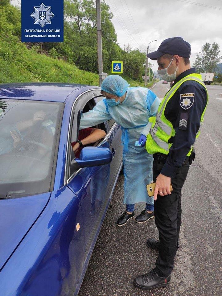 На в'їзді у Закарпаття медики перевіряють температуру у водіїв і пасажирів (ФОТО), фото-2
