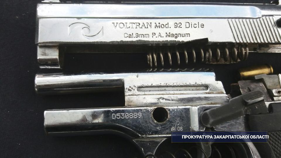 Мукачівець зберігав у гаражі зброю та боєприпаси (ФОТО), фото-1