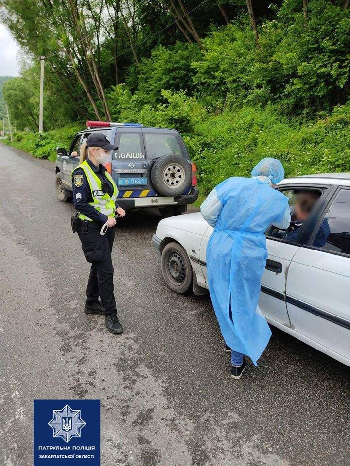 На в'їзді у Закарпаття медики перевіряють температуру у водіїв і пасажирів (ФОТО), фото-3