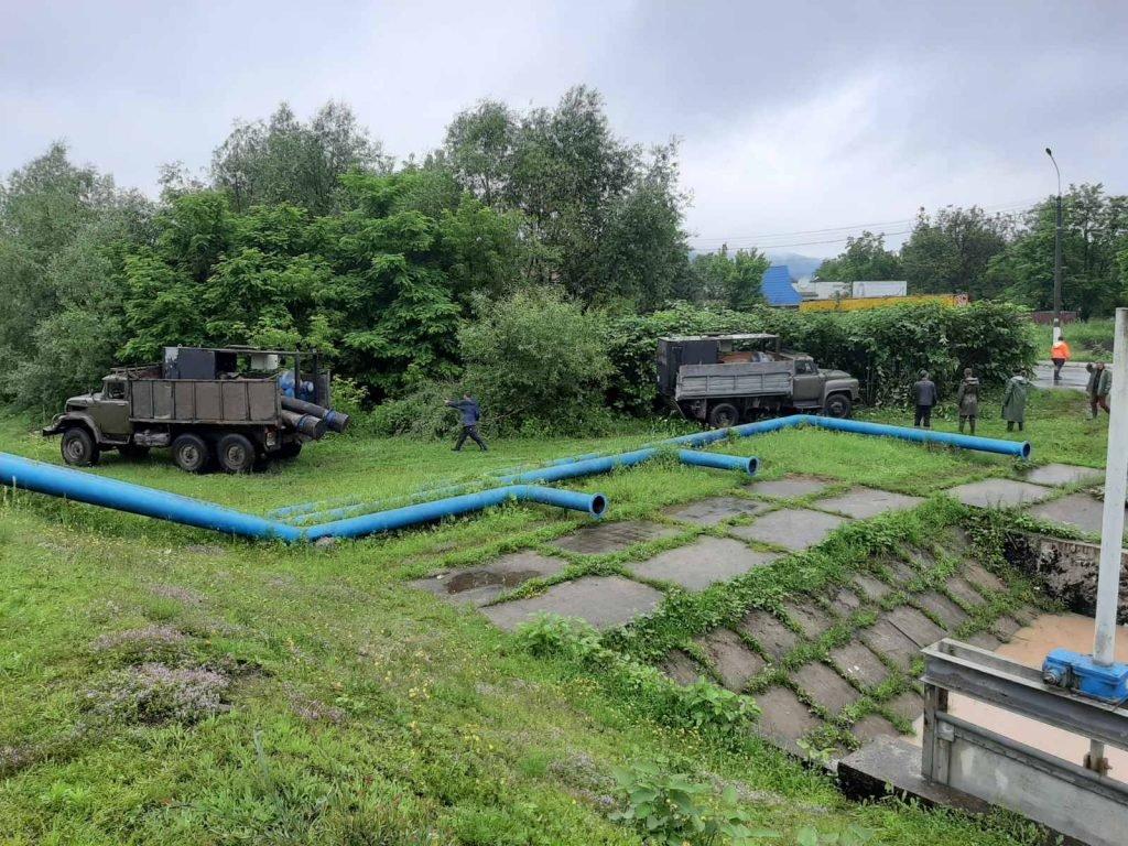 Регіон готується до паводку: на Закарпатті на Тисі монтують насосні станції (ФОТО), фото-2