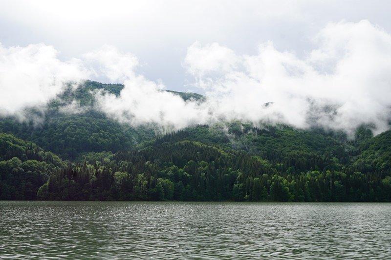 На Закарпатті береги водосховища потопають у смітті (ФОТО), фото-2