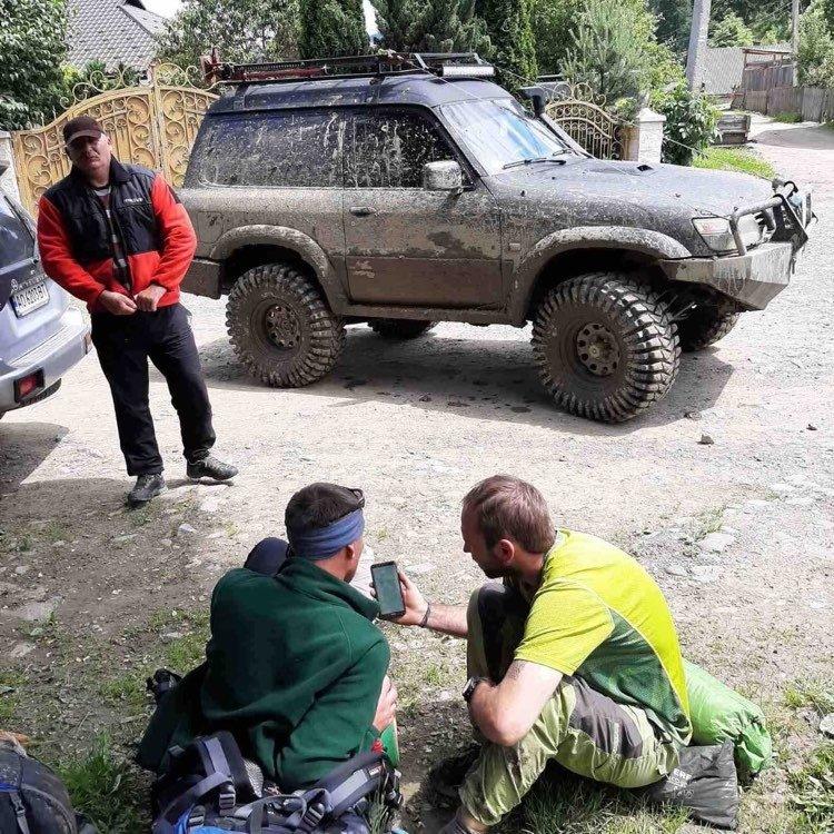 На Закарпатті рятувальники транспортували з гори травмованого туриста (ФОТО), фото-2