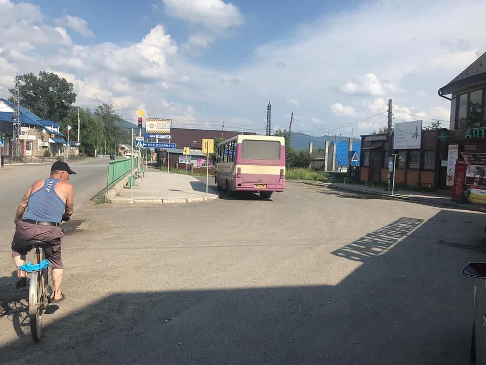 На Закарпатті оштрафували водія рейсового автобуса, який їздив попри заборону, фото-2