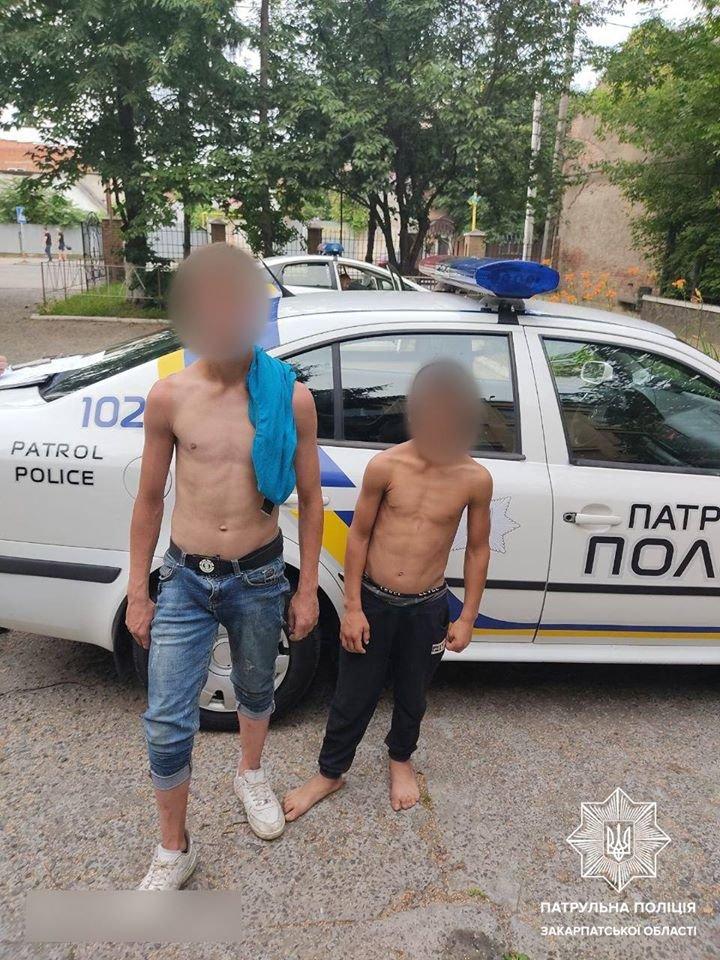 Пограбування ужгородця малолітніми злодіями біля банкомата: офіційна інформація від поліції (ФОТО), фото-1