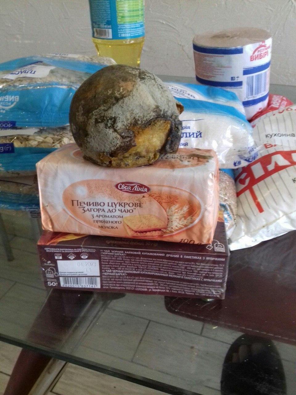 Курйоз дня: на Закарпатті пенсіонерам роздають набори з... гнилими апельсинами (ФОТО), фото-1