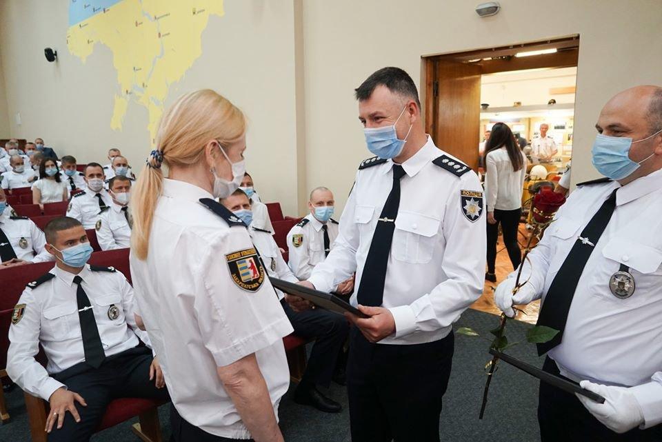 В Ужгороді відбулися урочистості з нагоди 5-ої річниці з дня створення Національної поліції України (ФОТО), фото-2