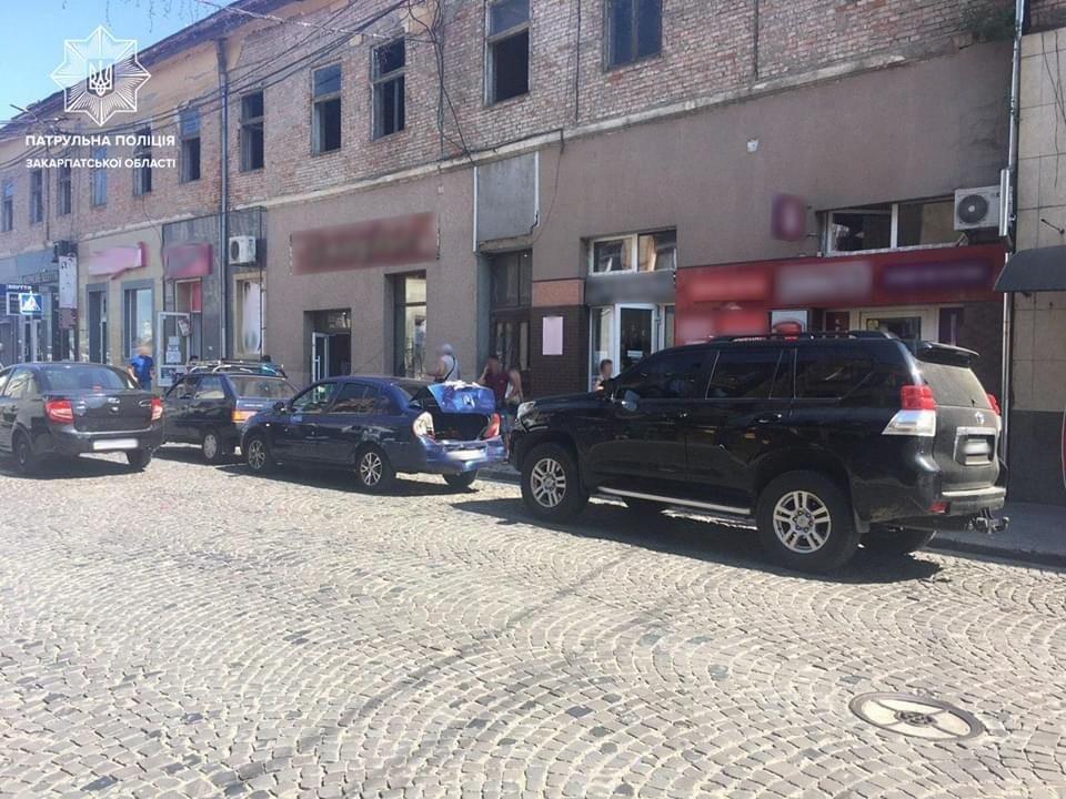 Водійка Toyota не дотрималась дистанції: відома причина потрійної ДТП на Закарпатті (ФОТО), фото-1