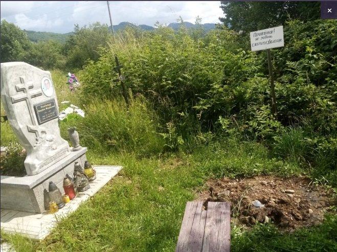 На Закарпатті цвинтар перетворили на смітник: хоронять тварин та зіпсовану їжу, фото-1