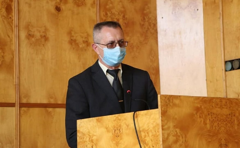 Голова Закарпатської ОДА Олексій Петров представив в.о. голови Хустської РДА, фото-1