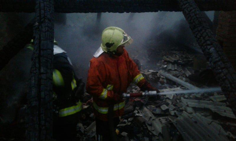 На Закарпатті у власному будинку живцем згорів чоловік (ФОТО), фото-2