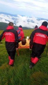 На Говерлі травмувався турист: рятувальники транспортували ужгородця до лікарні (ФОТО), фото-1