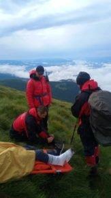 На Говерлі травмувався турист: рятувальники транспортували ужгородця до лікарні (ФОТО), фото-2
