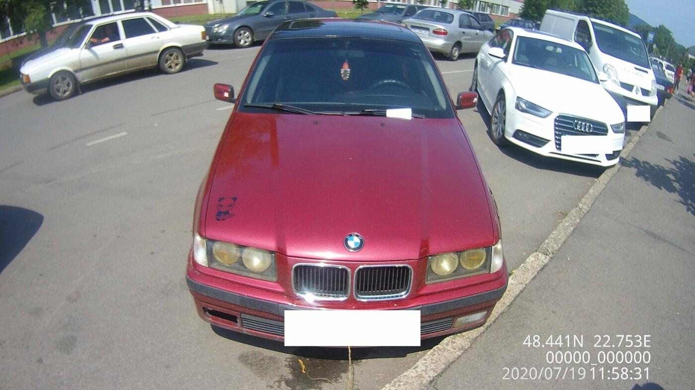 Понад 30 повідомлень про порушення правил паркування складено у Мукачеві за вихідні (ФОТО), фото-5