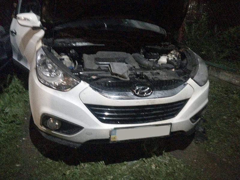 Надзвичайники кажуть, що проводка, власник - підпал: на Закарпатті горів автомобіль (ФОТО), фото-2