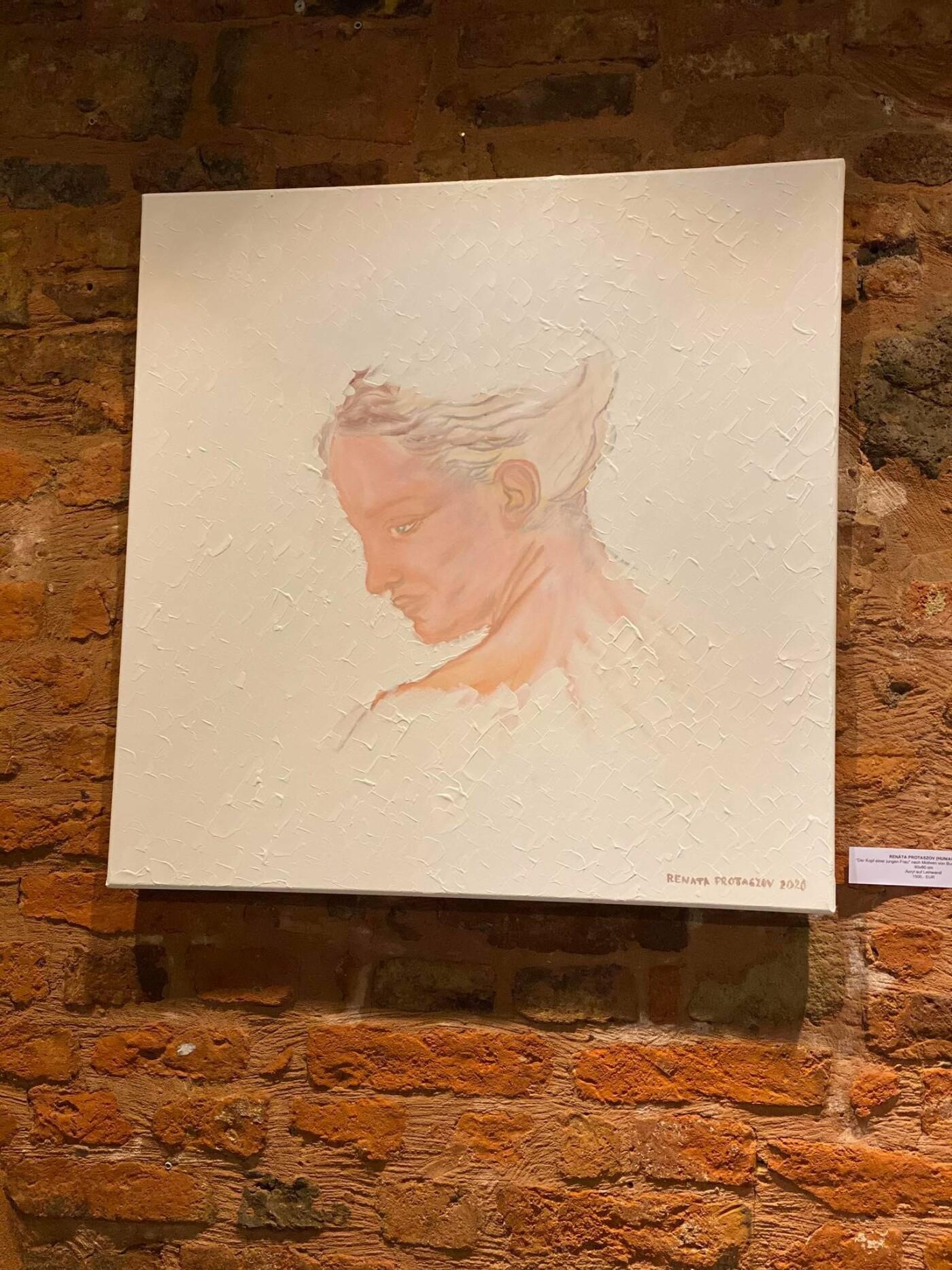 Талановита ужгородка відкрила персональну виставку живопису у Відні (ФОТО), фото-1