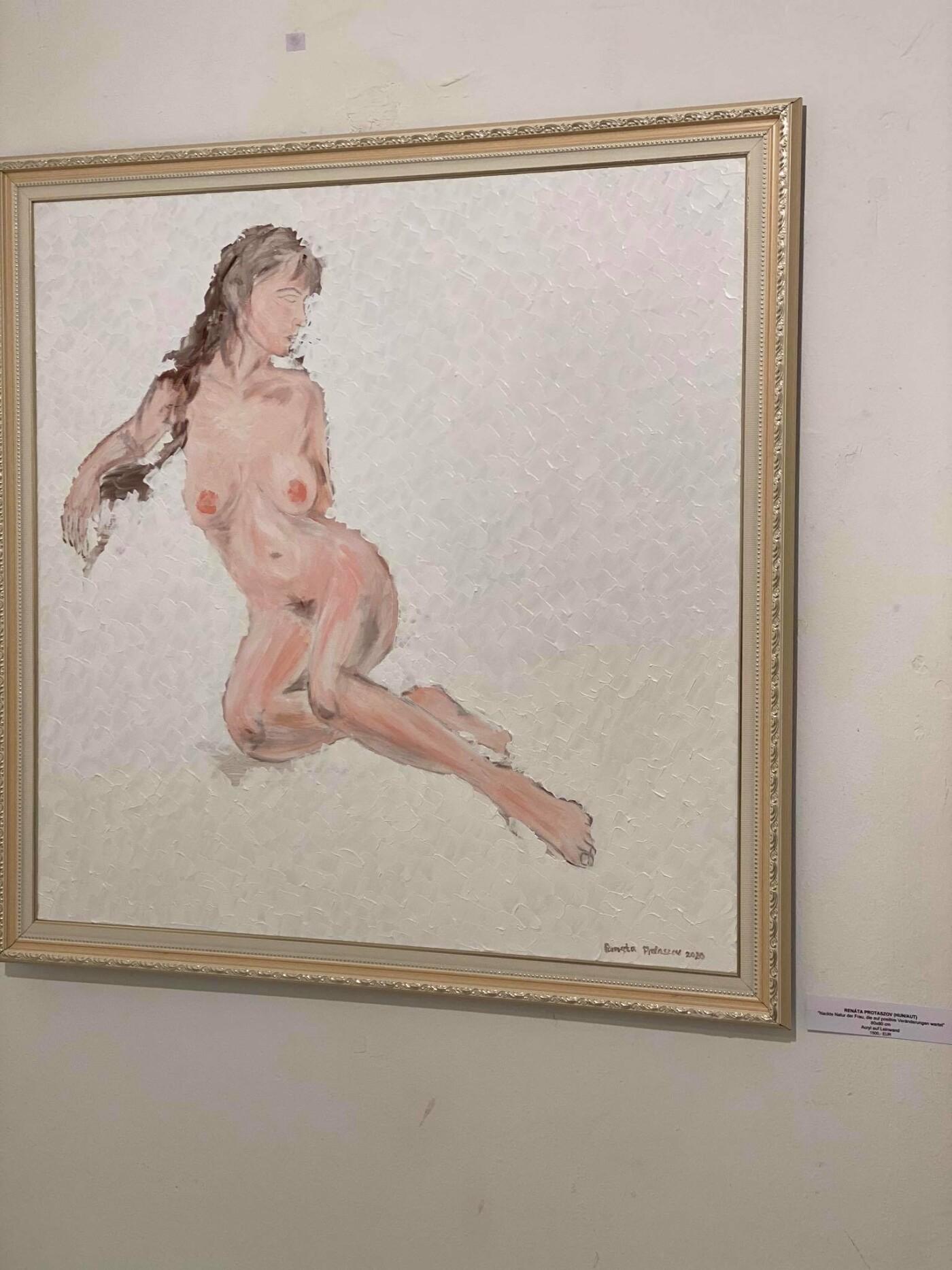 Талановита ужгородка відкрила персональну виставку живопису у Відні (ФОТО), фото-3