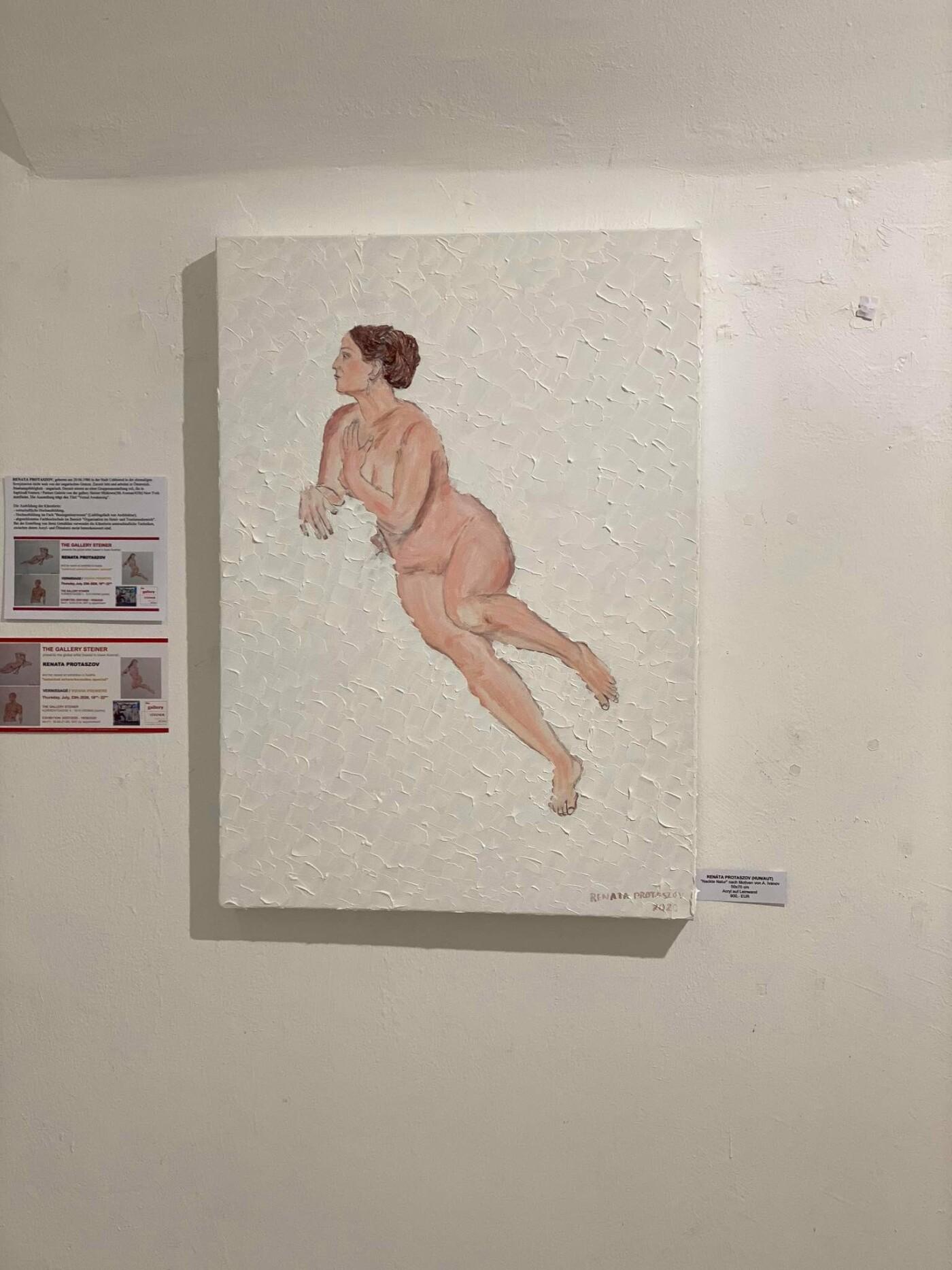 Талановита ужгородка відкрила персональну виставку живопису у Відні (ФОТО), фото-2
