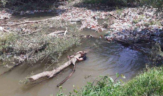 На Закарпатті річку очистять від сміття та мулу (ФОТО), фото-2