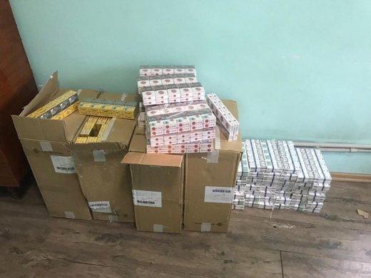 П'ять ящиків сигарет виявили сьогодні зранку прикордонники Мукачівського загону (ФОТО), фото-2