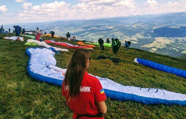 """На Закарпатті проходять змагання з парапланерного спорту """"Borzhava Forever"""" (ФОТО), фото-2"""