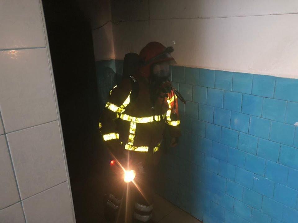 У Хусті горіла лікарня: хворих довелось евакуйовувати (ФОТО), фото-2