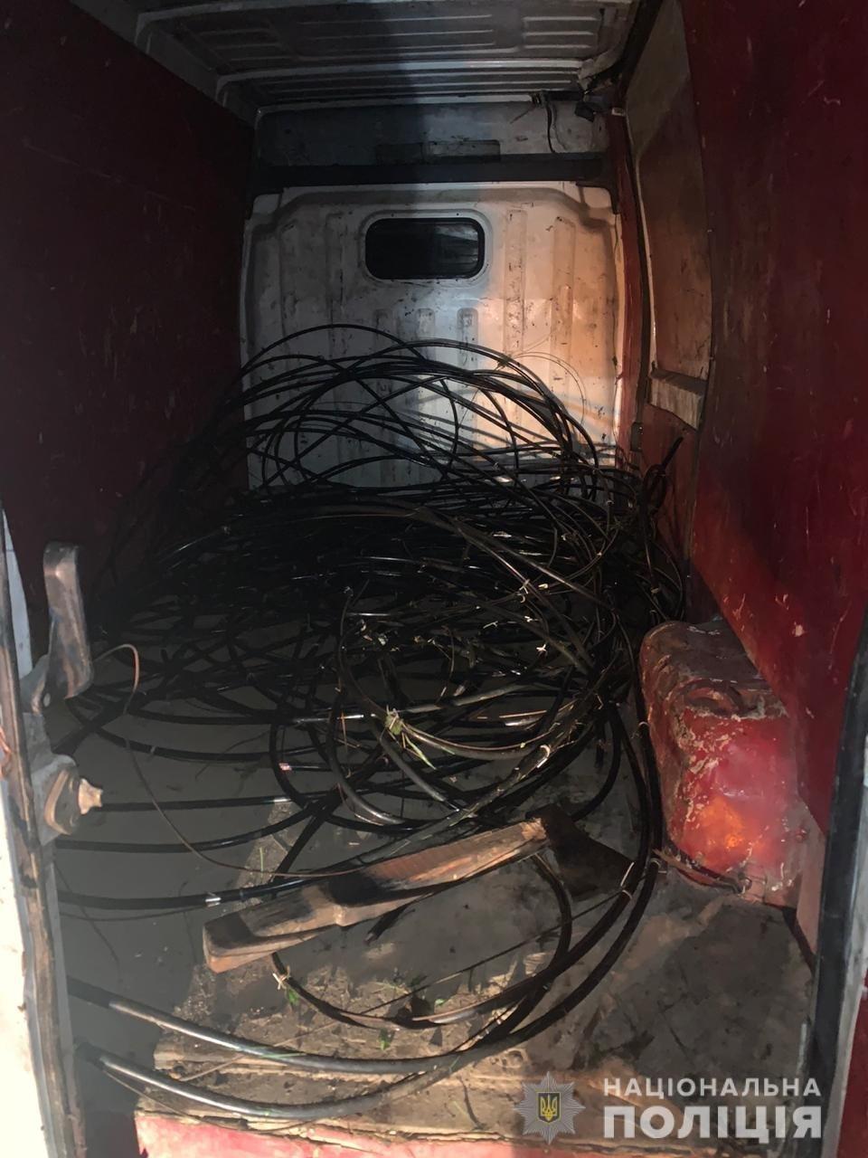 Крали телефонний кабель: на Закарпатті затримали банду злодіїв (ФОТО), фото-4