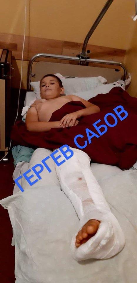 Юний закарпатець, який у ДТП втратив батька та частину ноги, потребує ВАШОЇ допомоги, фото-1