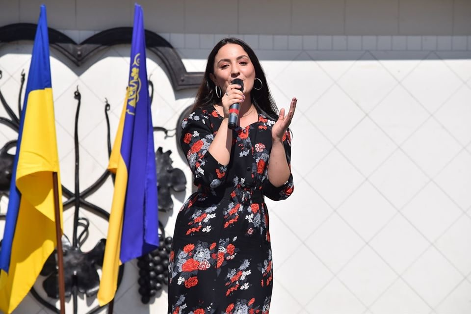 В Ужгороді віршами та пісняли вітали містян з Днем Незалежності (ФОТО), фото-4