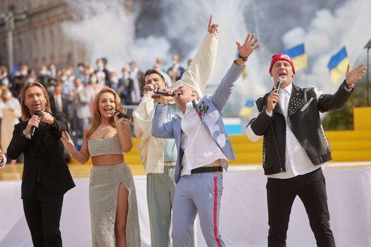 «Пісенна історія сучасної України» - зірки шоу-бізнесу привітали країну з Днем Незалежності (ВІДЕО), фото-1