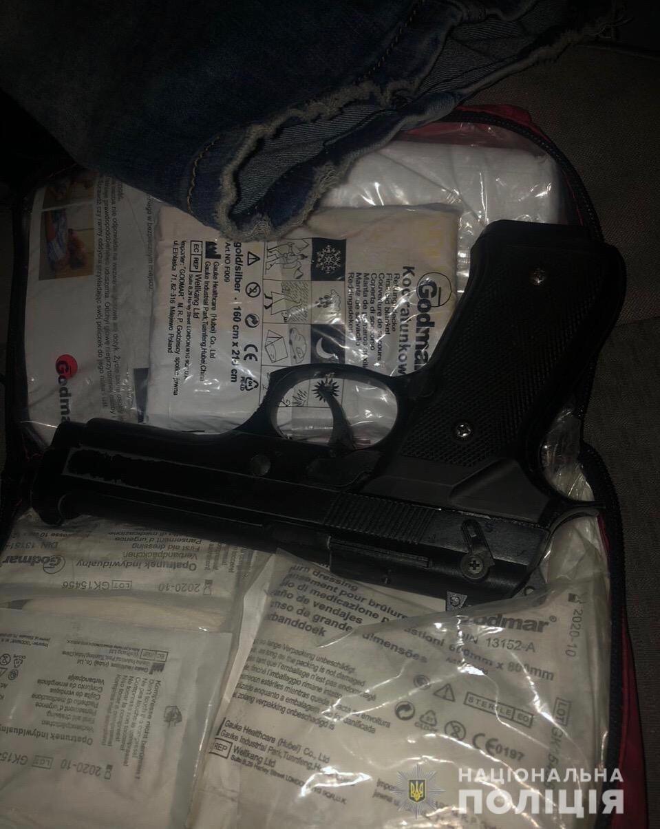"""На Закарпатті затримали водія, який перебував """"під кайфом"""" та мав при собі зброю та наркотики (ФОТО), фото-2"""