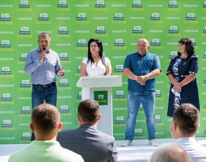 """""""Слуга Народу"""" презентувала виноградівську та берегівську команду на місцеві вибори 2020 (ФОТО, ВІДЕО) , фото-2"""