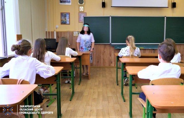 Уроки і COVID-19: яких правил повинні дотримуватися школярі Закарпаття в умовах пандемії (ВІДЕО), фото-2