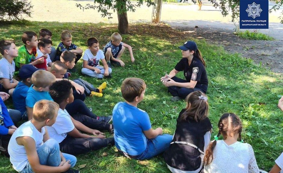 Патрульні провели з дітьми заняття на свіжому повітрі (ФОТО), фото-4
