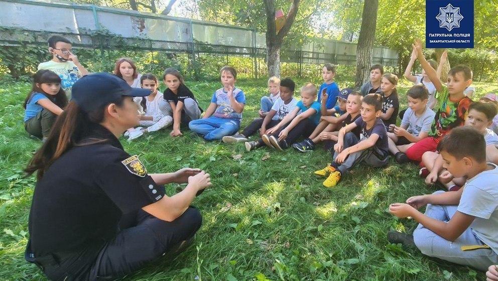 Патрульні провели з дітьми заняття на свіжому повітрі (ФОТО), фото-2