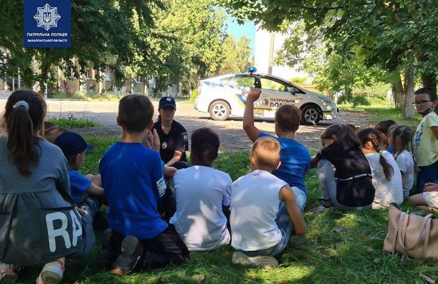 Патрульні провели з дітьми заняття на свіжому повітрі (ФОТО), фото-3