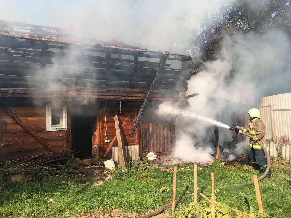 Завдяки вогнеборцям пожежу на Міжгірщині ліквідовано (ФОТО), фото-1