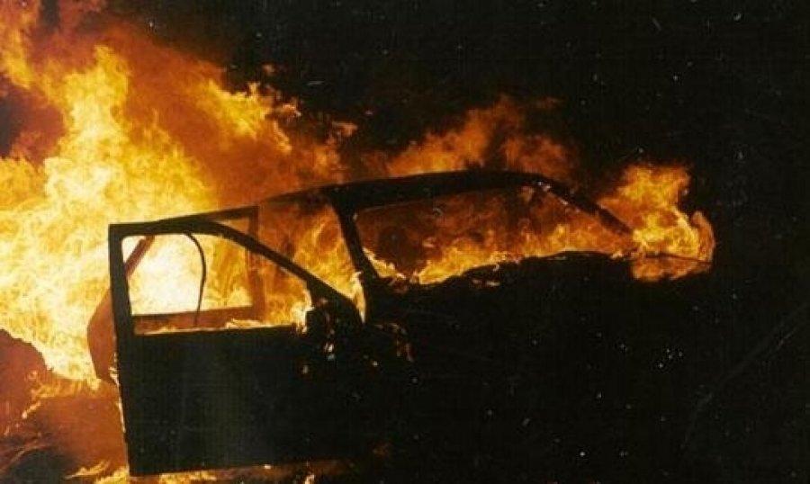 На Закарпатті горіли два автомобілі , фото-1